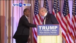 VOA60 America - Trump Chooses Carson as Housing & Urban Development Secretary