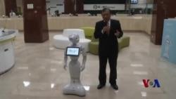 佩珀服务机器人登陆台湾