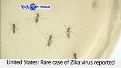 VOA60 World - Rare case of Zika virus reported in the U.S.