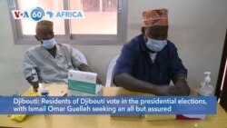 VOA60 Africa - Residents of Djibouti vote in the presidential elections
