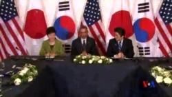 2014-04-16 美國之音視頻新聞: 奧巴馬亞洲行安撫盟國