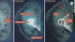 'Trung Quốc đang xây dựng những đảo mới ở Biển Đông'