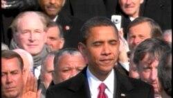 Barak Obamanın ikinci dönəm andiçmə mərasimi