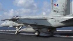 Sigue campaña naval estadounidenses contra Estado Islámico