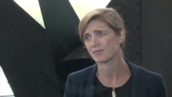 Watch VOA interview with Samantha Power