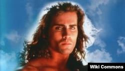 "Actor Joe Lara, star of ""Tarzan in Manhattan"" television movie."