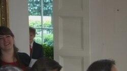 史上第一次 白宫国宴招待54名美国学童
