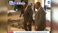 VOA60 AFIRKA: GABON Shugaban Gabon Ali Bongo Ya Ziyarci Majalisar Dokoki