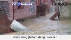 Hàng trăm người ở Ấn Độ sơ tán vì mưa lớn (VOA60)