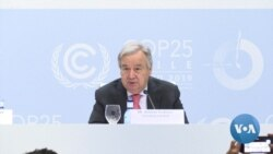 Guterres: Climate Crisis Is 'In Sight and Hurtling Towards Us'
