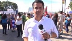 Manifestaciones en Miami ante la muerte de Castro