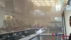 2018-1-15 美國之音視頻新聞: 雅加達證交所天花板坍塌致75人受傷