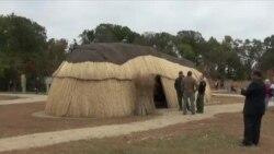 Настоящая индейская деревня под Вашингтоном