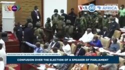 Manchetes africanas 7 Janeiro: Confrontos no parlamento ganês entre membros de partidos opostos