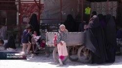 Žene boraca Islamske države odbijaju zaštitne mjere u sirijskom kampu al-Hol