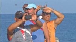 Histórico arribo de crucero estadounidense a Cuba