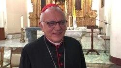 """Cardenal Baltazar Porras pide a oposición y gobierno de Venezuela """"premura"""" en acuerdos en Barbados"""
