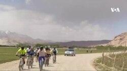 تور چهار روزهٔ بایسکلرانی کوهستانی در بامیان برگزار شد