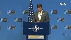 美国国防部长埃斯珀2020年2月13日称对使用中国的电信设备深度担忧(北约视频)