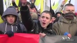 Марш русских националистов в Москве