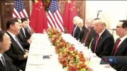Лідери США та Китаю домовились про тимчасове перемир'я у торговельній війні. Відео