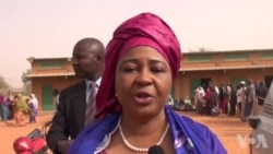 Réaction de Hari Amadou, l'épouse de Hama Amadou, après avoir voté