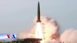 Triều Tiên tiếp tục phóng phi đạn tầm ngắn