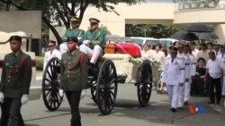 2016-11-18 美國之音視頻新聞: 菲律賓前獨裁者馬科斯遺體下葬英雄墓園
