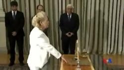 2015-08-28 美國之音視頻新聞:希臘最高法院首席大法官成為首位女總理