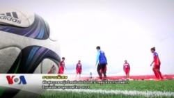 ทีมหญิงไทยติวเข้มตั้งเป้าเก็บคะแนนแรกฟุตบอลโลก