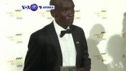 VOA60 Afirka: A Monaco Shaharraren Dan Tseren Kasar Kenya Eliud Kipchoge Ya Karbi Lambar Yabon Hukumar Wasan Tseren Kasa-da-Kasa
