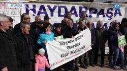 Haydarpaşa Dayanışması 422 Haftadır Gar Önünde Eylemde
