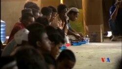 2015-05-12 美國之音視頻新聞:印尼海軍攔截一艘緬甸移民船