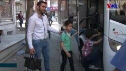 İstanbul'dan Suriye'ye Dönüş