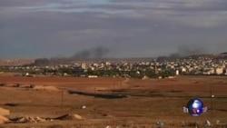 科巴尼难民欢迎美国空投 土耳其批评