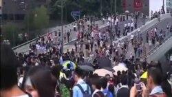 香港爆發大規模抗議的影響