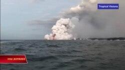 Hawaii: Du thuyền trúng bom nham thạch