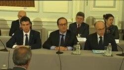 بزرگداشت قربانیان حمله تروریستی در پاريس