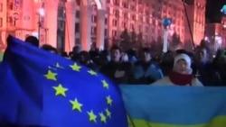 烏克蘭拒與歐盟簽約 抗議者跟警察發生衝突