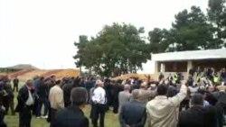 Milli Şuranın prezidentliyə namizədinin görüşünə mane olmağa çalışiblar