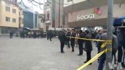 VIDEO: Građani na trgu uzvikuju ime uhapšenog Dragičevića