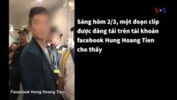 Bắt nghi phạm người Trung Quốc ăn cắp tiền trên máy bay
