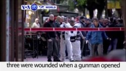 VOA60 World - Israeli Media: Gunman Kills 1, Injures 3 in Tel Aviv Shooting