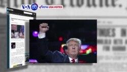 Manchetes Americanas 17 Outubro: Trump acredita que eleições estão manipuladas