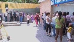 Venezuela sufre por falta de medicinas