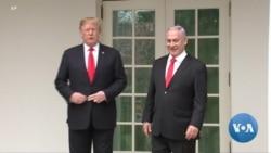 Trump's Golan Heights Declaration a Boon to Netanyahu