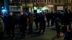 """2015-04-29 美國之音視頻新聞:巴爾的摩警察局長說""""城市已平靜"""""""