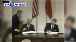 VOA60 America - President Donald Trump says the United States will withdraw from the Cold War-era Intermediate-Range Nuclear Forces Treaty