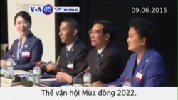 TQ, Almaty nỗ lực xin đăng cai Olympics Mùa đông 2022 (VOA60)