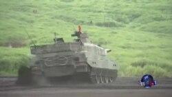 日本自卫队举行年度实弹射击演习